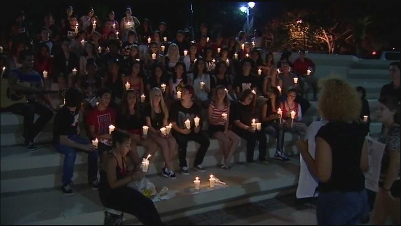 A vigil was held Saturday to remember the life of 16-year-old Edward Fernandez.