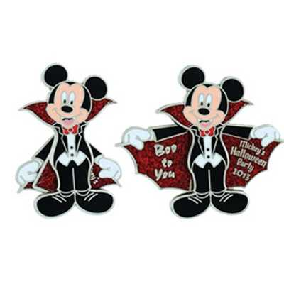 "Mickey's ""Boo to You"" pin"