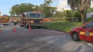 A woman has died after a house fire in southeast Orange County, and the fire appears to be intentionally set.