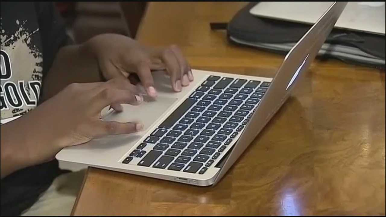 Volusia County schools are are trying to crack down on the thefts of district-issued computers and devices.