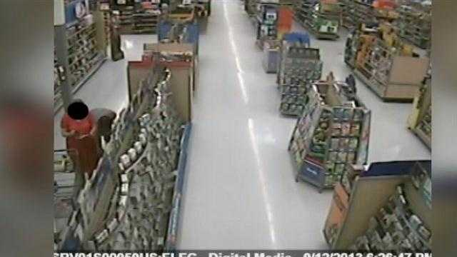 The search continues for a man accused of taking pictures and touching a woman at a Walmart in Sumter County.