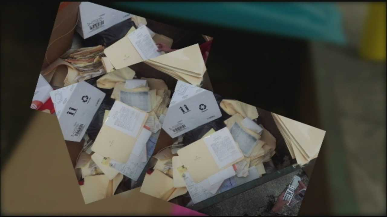 A Family Dollar store worker found hundreds of medical records that were tossed in a dumpster behind his Port Orange store recently.
