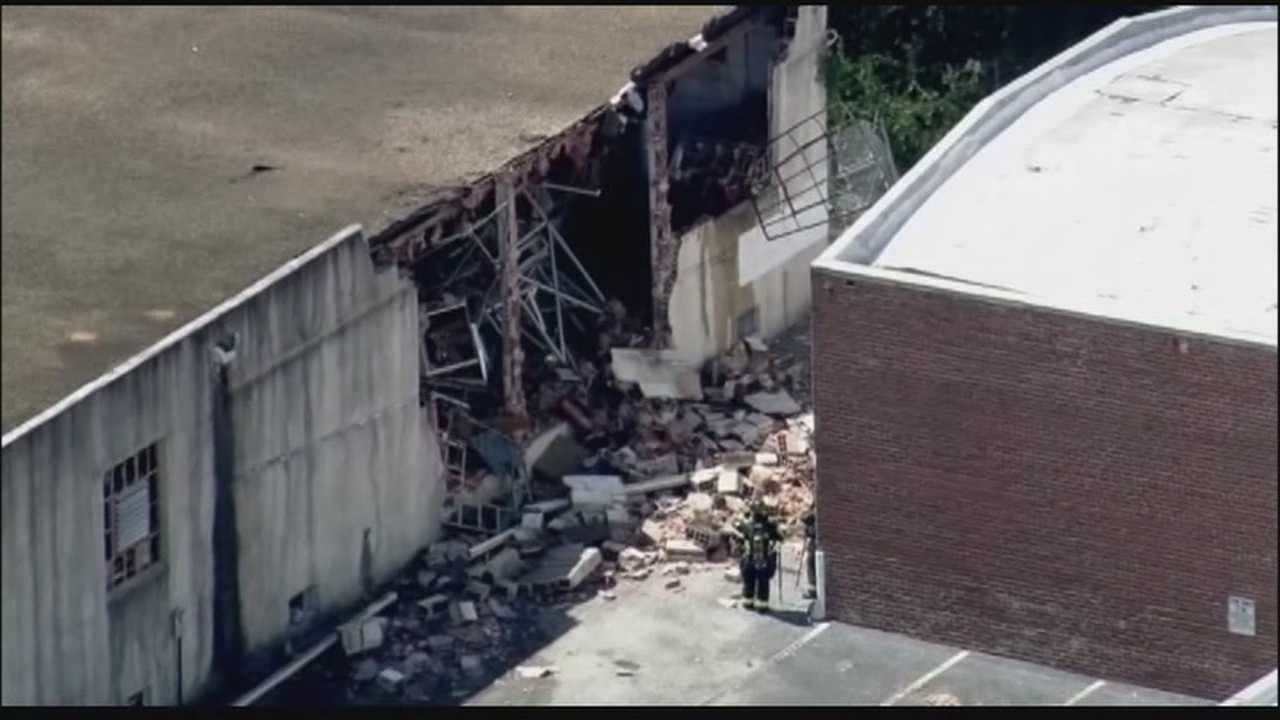 Explosion blows out walls of downtown Orlando building