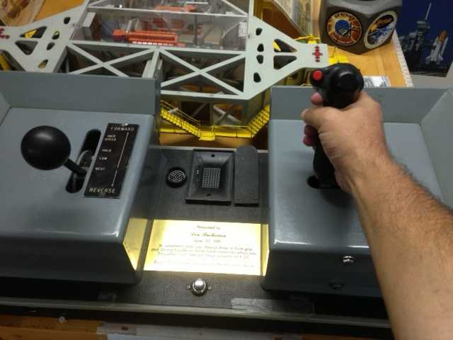 Hand controller for giant space shuttle crawler-transporter: no known estimate.