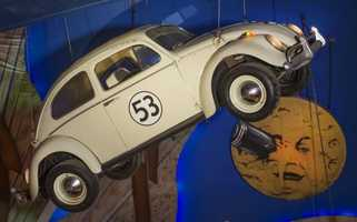 """Herbie, a 1963 Volkswagen Beetle deluxe ragtop sedan, starred in several popular Disney films, starting with """"The Love Bug"""" in 1969."""