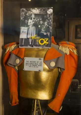 """One of the munchkins in """"The Wizard of Oz,"""" wore this jacket."""