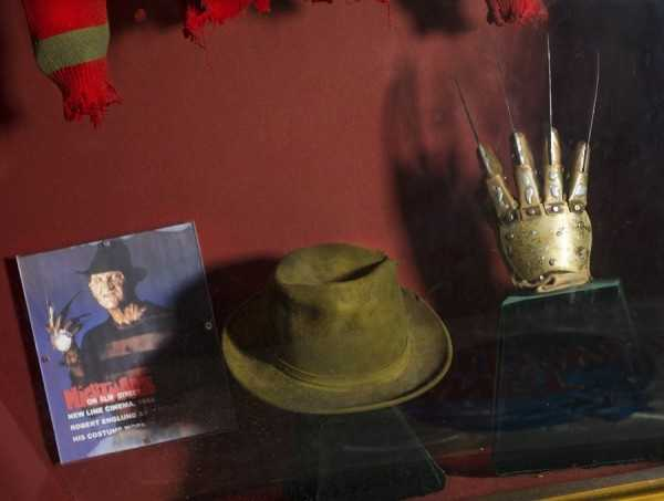 No collection would be complete without some Freddy Krueger memorabilia.