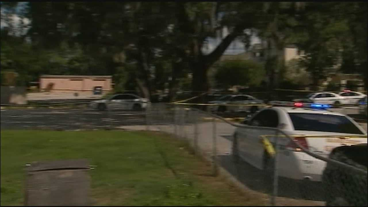 A teenager was shot on a playground at the Agape Christian Academy in Orange County.