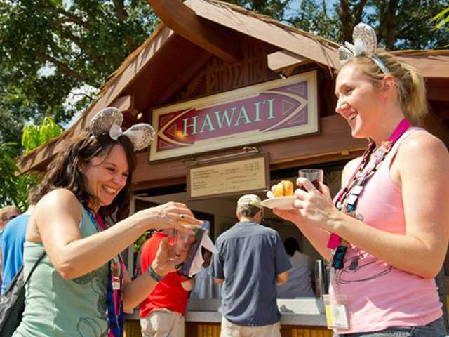 Epcot International Food & Wine Festival features 25 international marketplaces.