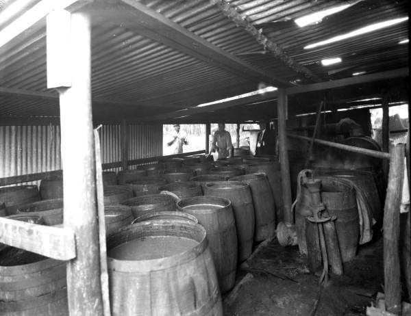 1930: Barrels of moonshine uncovered in Jacksonville.