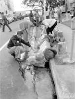 1958: Moonshine dumped in the sewer in Tallahassee.