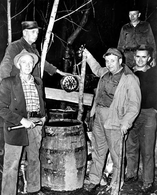 1959: A still in Washington County.