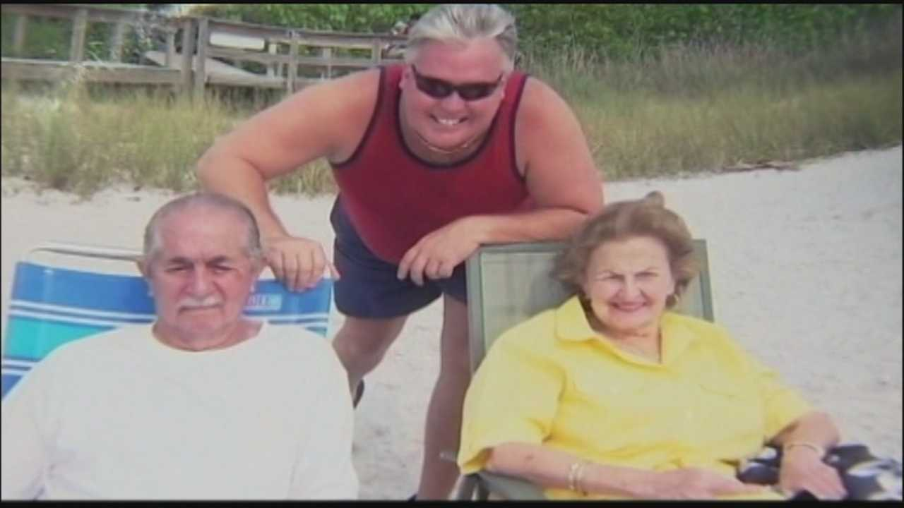 Family members of an elderly Orange County murder victim are pleading for information to help find her killer.
