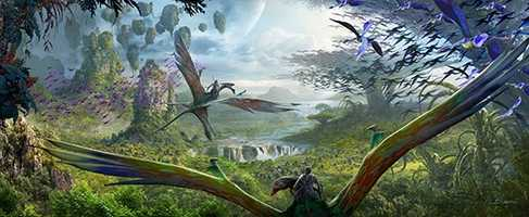 """Guests will also be able to """"soar into the sky riding a Banshee."""""""