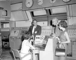 Mission control in 1967.