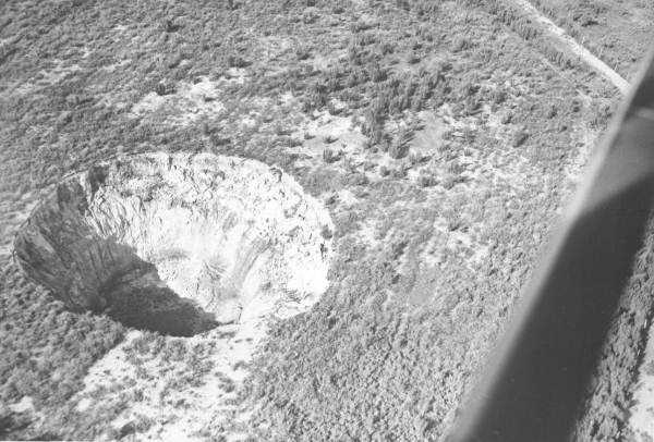 Another newly formed sinkhole near Orlando (Date not known).