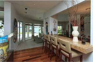 Gorgeous 5 Brazilian Epe' wood floors throughout the main living areas.