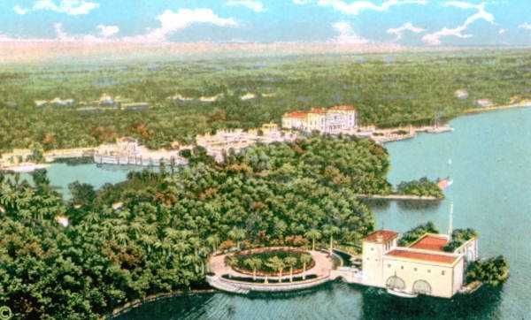 "According to the official website of Vizcaya Museums & Gardens, James Deering derived the name ""Vizcaya"" from the ancient Hispanic explorer Vizcaino."