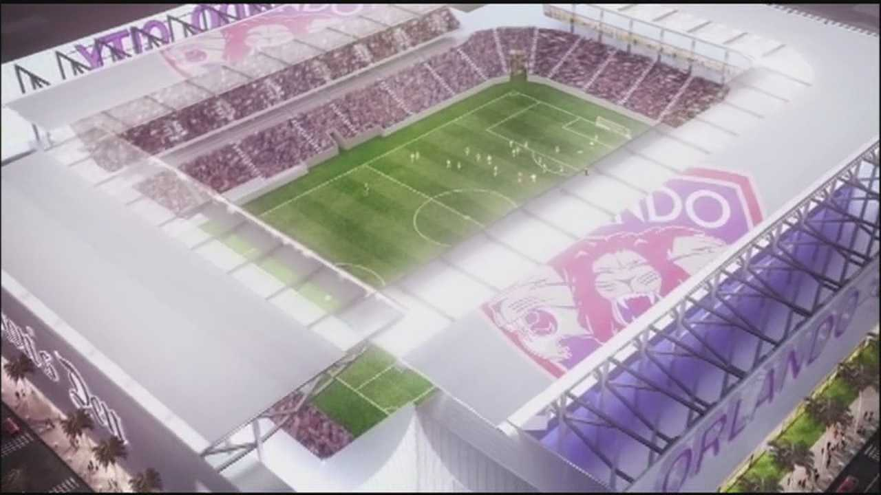 MLS president visits Central Florida to advocate for soccer stadium