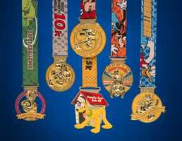 Ready to run? Walt Disney World Marathon weekend is scheduled for Jan. 9 - 12 and Disney has revealed the medals for each event.