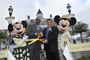Disney opened its 12th resort in the Disney Vacation Club -- The Villas at Disney's Grand Floridian Resort & Spa, on Wednesday.