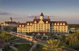 The resort is located within walking distance of the monorail to the Magic Kingdom.