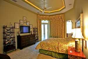 A different angle of this downstairs bedroom.