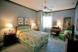This is the final bedroom of the tour.