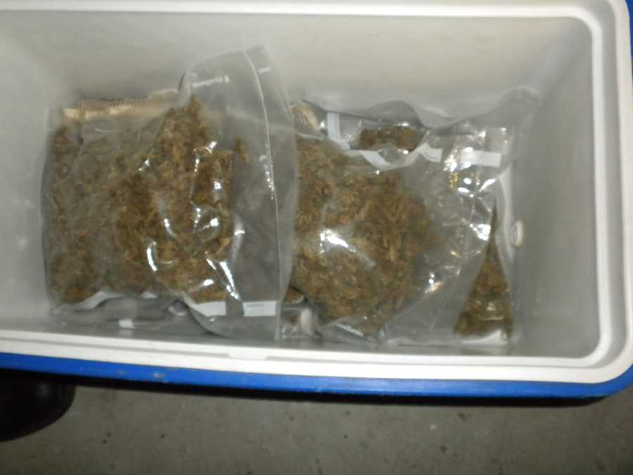 Authorities discovered a marijuana packing and distribution operation in a home in Groveland.