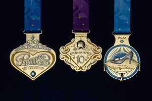 The medals for Disney's Princess and Tinker Bell half marathons were revealed this week. Take a look at them now.