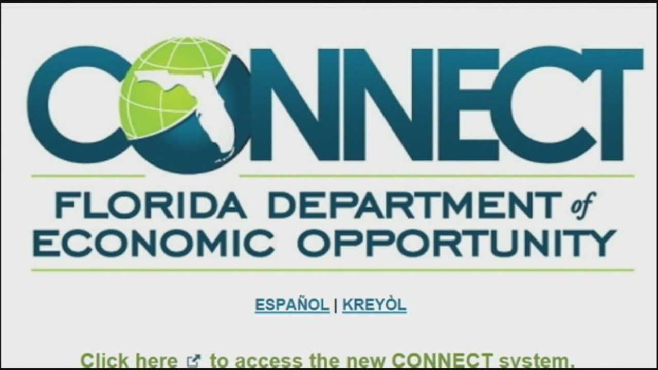 Problems arise with Florida's new unemployment site