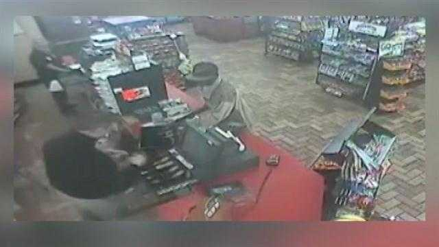 The Orange County Sheriff's Department is hoping the public can help capture the man responsible for an armed robbery.