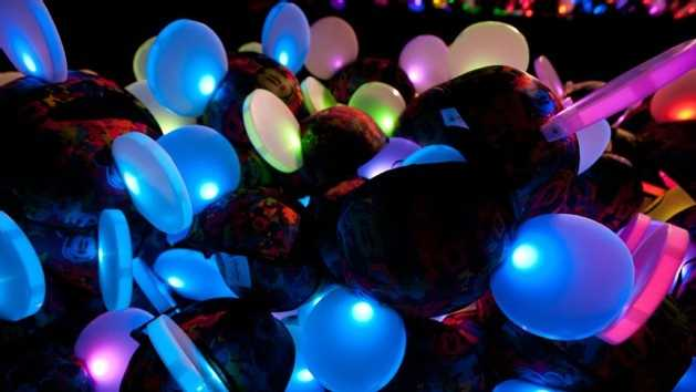 New for 2013, ear hats that glow with the dancing lights can be purchased to be part of the show.