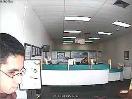 Authorities said the robber may have struck again at an Advance America in Sanford, that time making off with cash.