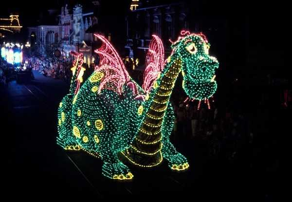 "The ""Main Street Electrical Parade"" was performed until September 14, 1991, where it was replaced with a new nightly parade called ""SpectroMagic."""
