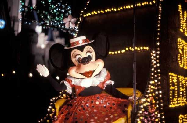 The parade was an innovative addition to the park thanks to more than 600,000 lights featured on their 23 floats.