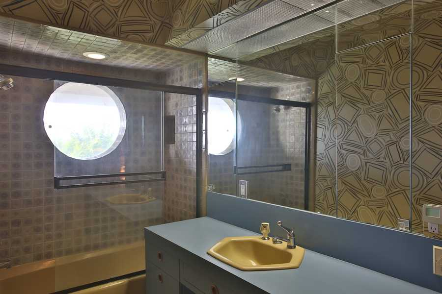 One of the home's full bathrooms.