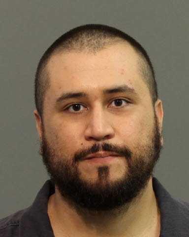 George Zimmerman's mug shot for his domestic violence arrest on Nov. 18.