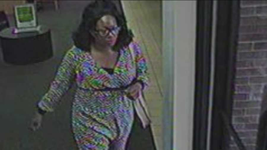 Police in Daytona Beach are looking for a woman who pulled a gun from her bra and robbed a bank.