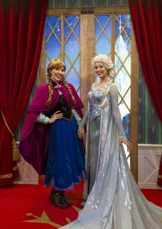 You can meet Anna and Elsa inside of Prinsesse Plass, a meet-and-greet location in Epcot's section of Norway at the World Showcase section of the park.