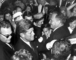 President John F. Kennedy made several stops in Florida, including Miami, Tampa and at Cape Canaveral days before his Nov. 22, 1963 death.