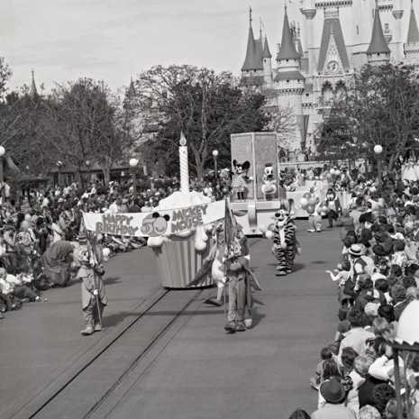 The Magic Kingdom officially opened in 1971, so the park was open only seven years before Mickey Mouse's 50th birthday.