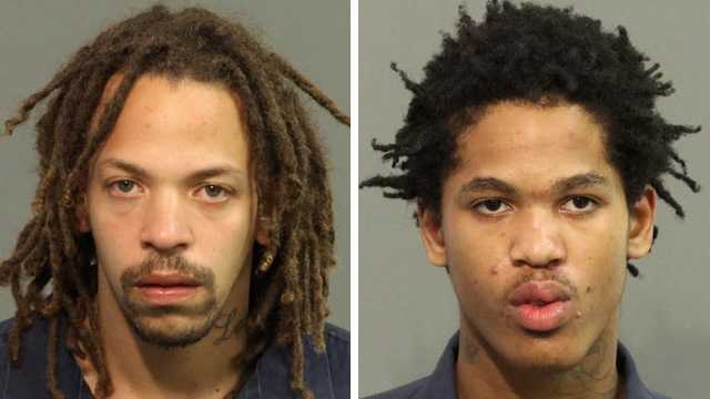 Timothy Nichols (left) and Devante Reed