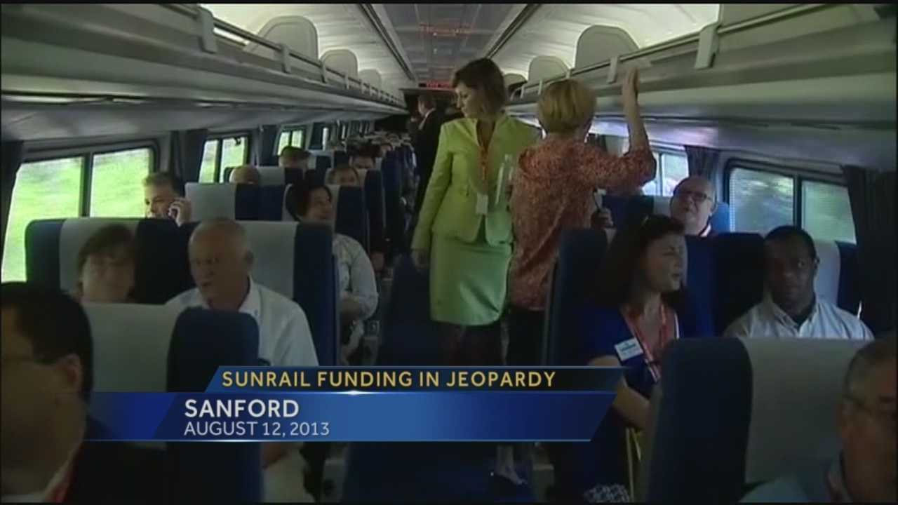 Funding for SunRail in jeopardy.