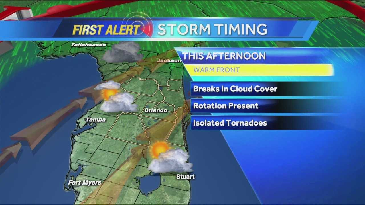 First Alert Chief Meteorologist Jason Brewer has your forecast.