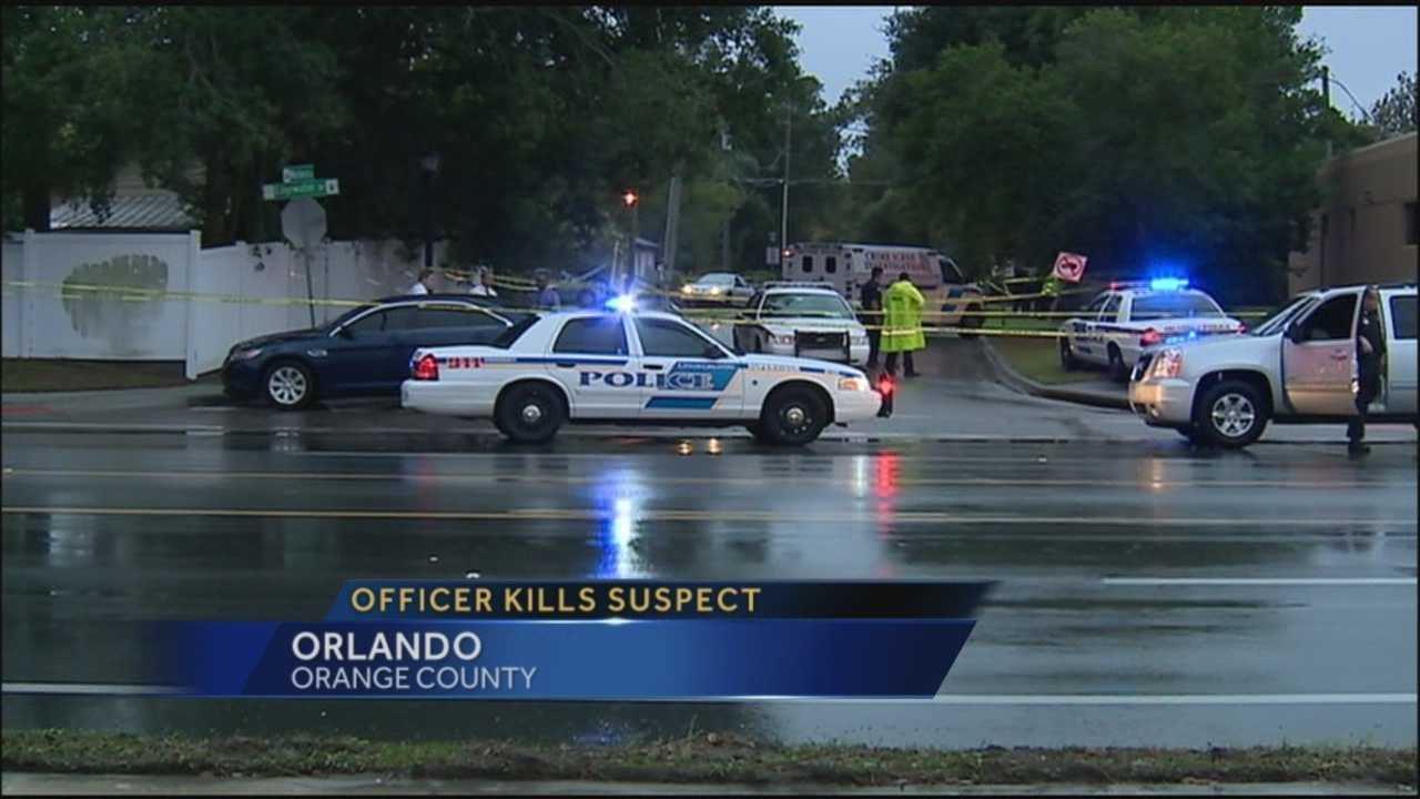 Orlando police officer shooting