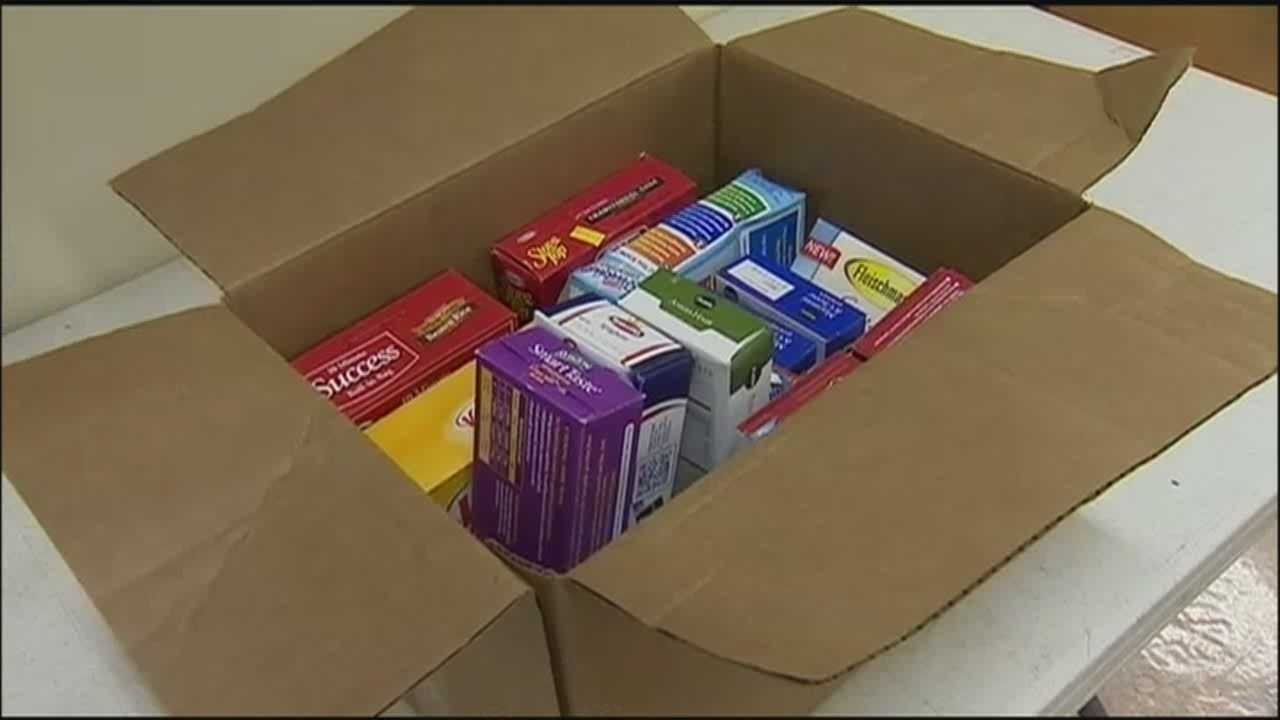 Two men give back to Second Harvest Food Bank and to a church that helped them out before.