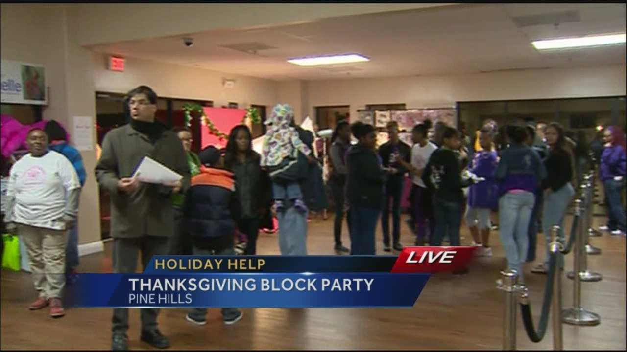 Greater Orlando Cares hosts Thanksgiving event