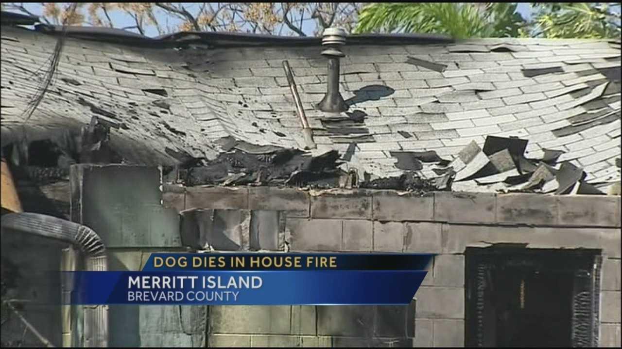Home destroyed in Merritt Island fire