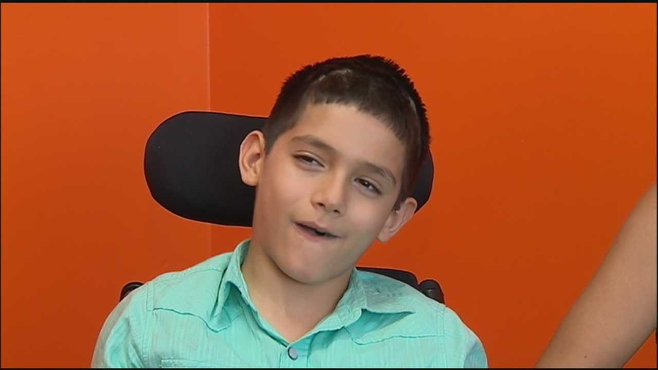 Rare brain surgery helps boy with Dystonia